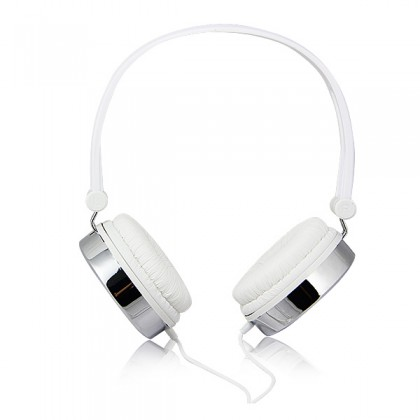 3.5mm Plug Retro Foldable Stereo Headphones with Microphone, Volume Control & 1.5 m Cable for iPhone, iPad (Kanen 870)