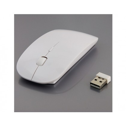 2.4GHz Wireless Optical Mouse with Scroll Wheel for MacBooks/PC