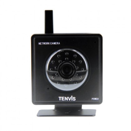 "Tenvis 1/4"" Color CMOS Sensor MJPEG Series IP Camera with Built-in Microphone and Speaker (Black)"
