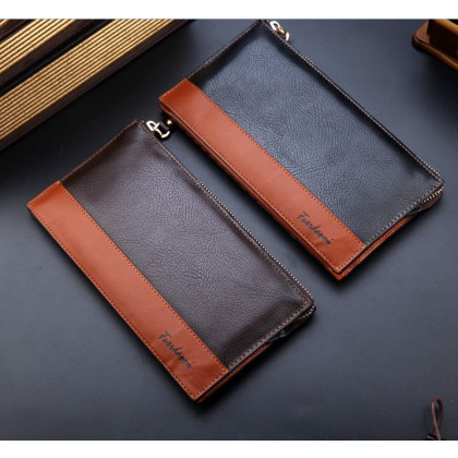 Long Purse Bag Large Capacity Commercial Clutch Bag Wallet Card Holder Male Fasion