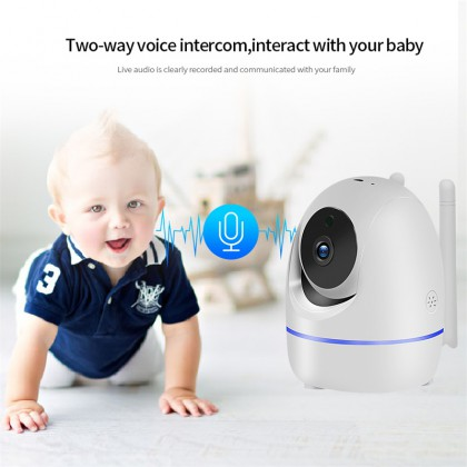 PTZ IP Onvif Camera 3.0MP Home Security IP Camera Wi-Fi Wireless Full HD Baby Monitor IRCut Night IR Automatic Tracking