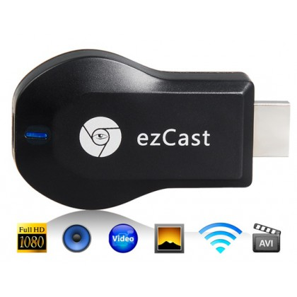 M2 Android 4.2 Miracast TV Dongle WiFi Display Receiver/Adapter (Black)