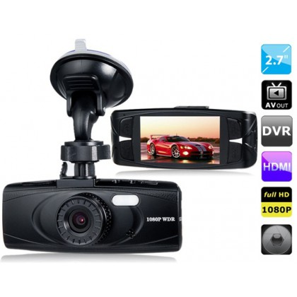"""2.7"""" LED Screen 96650, 6G Lens Vehicle Black Box DVR Recorder with Parking Monitor, HDMI Output, TV-Out & G-Sensor"""