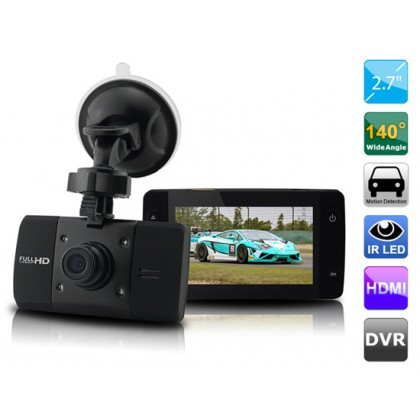 2.7 Inch TFT Car DVR Camera Video Recorder G6W 1080P Night Vision WDR G-sensor