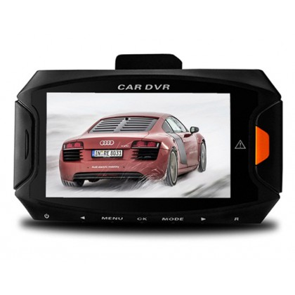 "G90 2.7"" 5MP HD Vehicle Black Box DVR Camera Video Recorder with Motion Detection, Loop Recording, G-sensor (Black)"