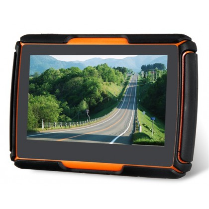 "HFK-430M 4.3"" Motorcycle GPS Navigator with Waterproof, Shockproof and Dustproof Function"