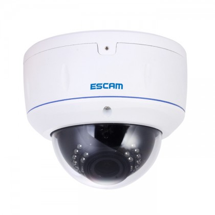 1080P Water-Proof & Vandal-Proof IR Network Dome Camera