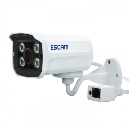 H.264 Dual Stream 3.6MM Day/Night Waterproof IP Camera,Support Mobile Detection