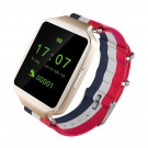 L1 Bluetooth Smart Wacth For Android IOS support SMS alerts, remote camera(Gold)