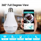 960P 360 IP Camera Panoramic Lampada Camera Wifi IP Camera Fisheye Panoramic Surveillance Home Security CCTV Camera