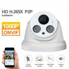 IP & Smart Security Camera Systems Dome 1080P IP Security Indoor Camera Alarm Night Vision CCTV ONVIF Surveillance Camera