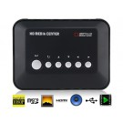 1080P HDMI Hard Disk Player  Multi Media Player Android TV (Black)