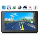 """AW715 7"""" TFT Windows CE 6.0 GPS Navigator with MTK3351 CPU, FM Transmitter, Built-in Microphone"""