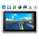 """AW488AC 4.3"""" TFT Windows CE 6.0 GPS Navigator with MTK3351 CPU, FM Transmitter, Built-in Microphone (4GB)"""