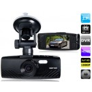 "2.7"" LED Screen 96650, 6G Lens Vehicle Black Box DVR Recorder with Parking Monitor, HDMI Output, TV-Out & G-Sensor (Black)"
