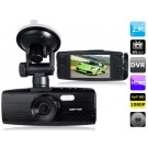 2.7 Screen Novatek 96650 Vehicle Black Box DVR with HDMI Output, TV-Out (Black)