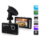 170° Wide-angle Single Lens Vehicle Black Box DVR with Infrared Night Vision, Motion Detection & HDMI Video Output (Black)