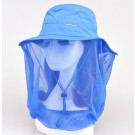 Mosquito Bug Insect Bee Resistance Net Mesh Head Face Protector Hat Cap Outdoor