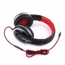 Portable folding headset headphone 3.5mm audio cable for iphone laptap pad phone