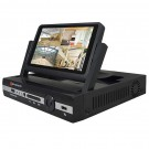 7 inch 4-ch HD video recorder dvr with AHD HD monitor with screen monitor