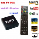 Mini Set Top Box of TVIP Box Linux or Android 4.4 Double System support H.265