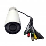 ONVIF H.264 & MJPEG IR Range 20m 1080P HD Network Water-proof Camera