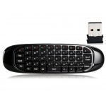 C120 6-axis 2.4GHz Motion Sensing Wireless Air Mouse, Keyboard, Remote Control & Game Controller (Black)