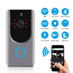 Wireless Video intercom & doorbell System Apartments IR Alarm IP PTZ Wireless Security Surveillance Camera  WIFI  Video Doorbell