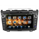 "J8615M 8"" LCD Double Din Car DVD Player with Built-in GPS, Bluetooth"