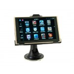"5"" Touch Screen GPS Car Navigator with eBook Reader Calendar (Black)"