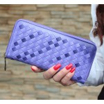 Womens Wallet  The Gradient Of Japan And South Korea Purse Wallet (Purple)