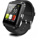 Bluetooth FM Smart Wrist Watch Touch Screen Mate for Android & IOS
