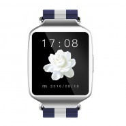 L1 Bluetooth Smart Wacth For Android IOS support SMS alerts, remote camera(Silver)