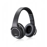 3.0 Bluetooth Wireless 2in1 Headphones with Flip Out Speakers NFC function (Black)