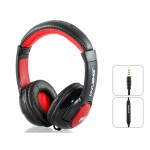 3.5 mm Phone Headset Super Bass Mobile with Microphone & 3.0 m Cable (Black)